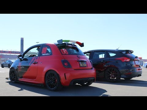 TRACK DAY - AUTO CLUB SPEEDWAY (Built Fiat 500 and Built Focus ST)