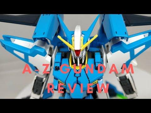 New Amazon A-Z Gundam Review!