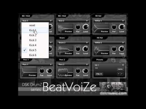 DSK DrumZ BeatVoiZe - Free VST
