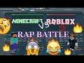 MINECRAFT vs ROBLOX - RAP BATTLE