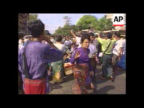 Burma - Student protests