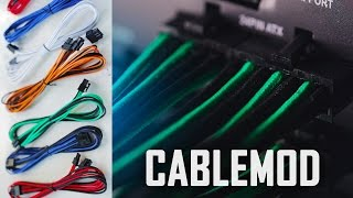 CableMod FULL Sleeved PSU Cable Set | Color your build! Thumbnail