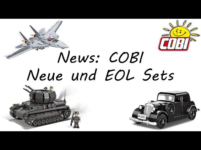 News: COBI - Neue & EOL-Sets (COBI Sets 2039, 2046, 5811, 2706, 2707, 2548, 2543, 2534, 2619, 2270)