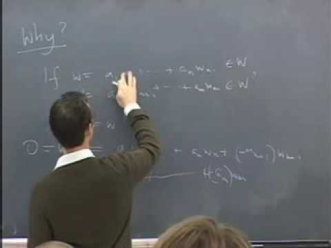 Abstract Algebra ~ Harvard ~ Lecture 10