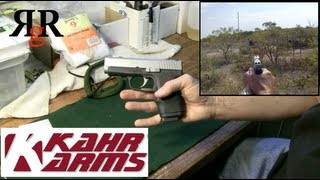kahr cw9 review and field strip cw9 gopro hero2
