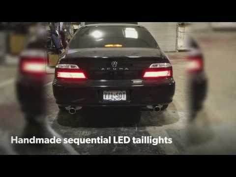 Acura Tl 2nd Gen Sequential Led Taillights
