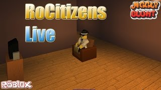 Roblox Live - Rocitizens Come Join In!