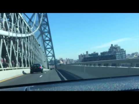Driving New Car Over The Williamsburg Bridge