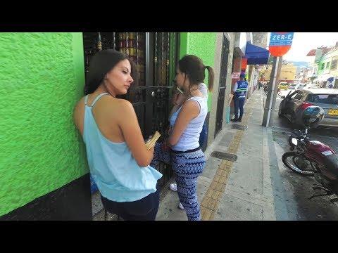 (2/2) Walking Around Envigado Medellin Colombia - Copyright Free
