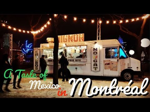A TASTE of MEXICO in MONTREAL, CANADA! 🇨🇦 | The FAMOUS POUTINE & a Whole Load of CHURROS!