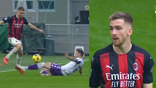 Alexis Saelemaekers vs Fiorentina | This is His BEST Match in a Milan Shirt 🔥