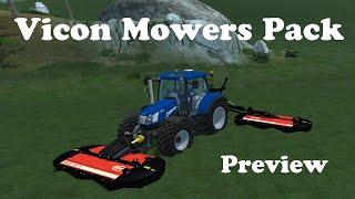 Heute ein Preview des Vicon Mowers Pack von Black_Forest_IHC   Link : noch nicht verfügbar folgt bald !!!  Danke an Black Forest IHC für die Test Version.   Instagram :https://www.instagram.com/tc__tw/  Partner : https://www.instagram.com/black_forest_ihc/  Spiel: https://farming-simulator.com/  Viel Spaß beim Anschauen !