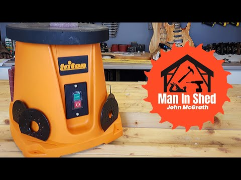 Triton Spindle Sander! New Tool Day Review.