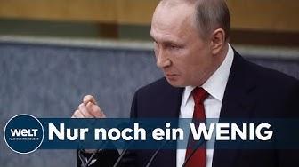 VERFASSUNGSREFORM IN RUSSLAND: Jetzt wird klar - Putin will ewig regieren