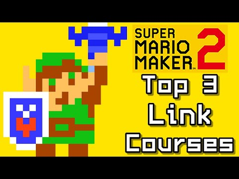 Super Mario Maker 2 Top 3 LINK - MASTER SWORD Courses (Switch)