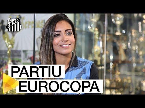 PARTIU EUROCOPA: Suzane, das Sereias da Vila, vai representar Portugal na competição