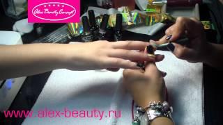 Гель-лак: растяжка, переход из цвета в цвет, литье на ногтях, змеиная кожа. Thumbnail