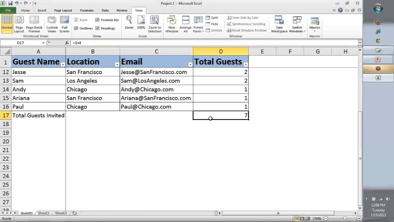 Ms excel tutorial for beginners day test viewer macros free also rh youtube