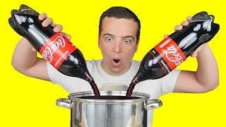 EXPÉRIENCE : Coca-Cola VS Coca-Cola Zero