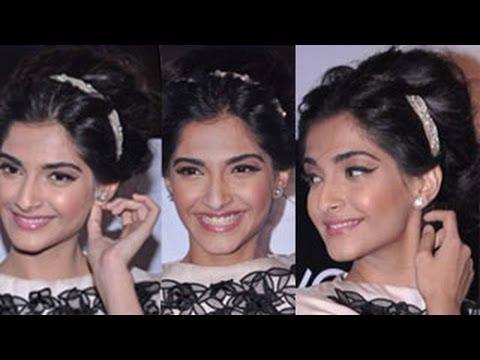 Sonam Kapoors Glamorous Hairstyle Youtube