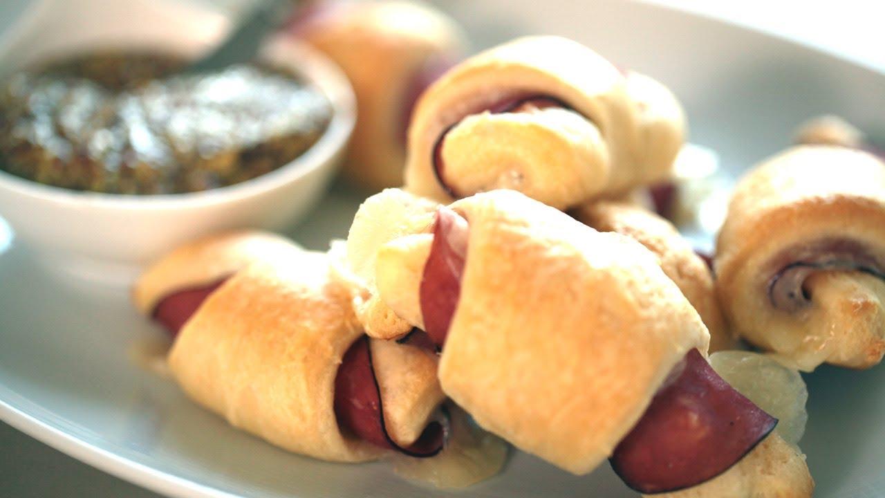 Ham  Swiss Cheese Crescent Rolls Recipe |KIN EATSYouTube