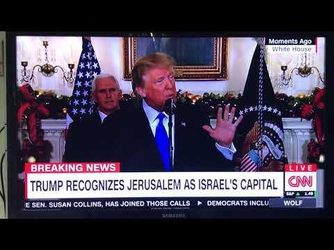 President Trump has a Stroke while giving Speech