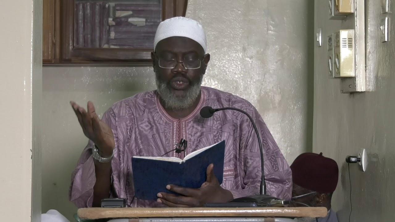 Tafsir sourat Nahl versets 110 à la fin par Imam Hassane Sarr (HA)