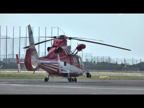 木更津航空祭2013 Eurocopter AS365N3 Dauphin 2 JA03CF RTB