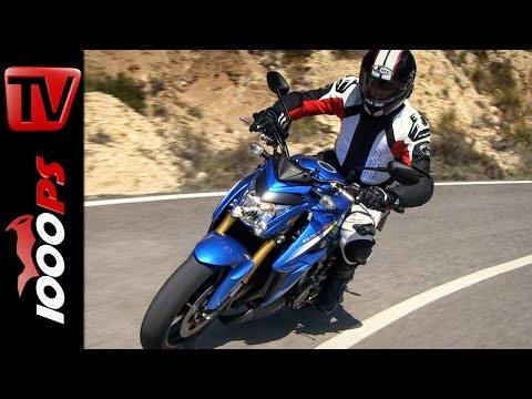 2015 Suzuki GSX-S1000 Onboard + Sound 60fps