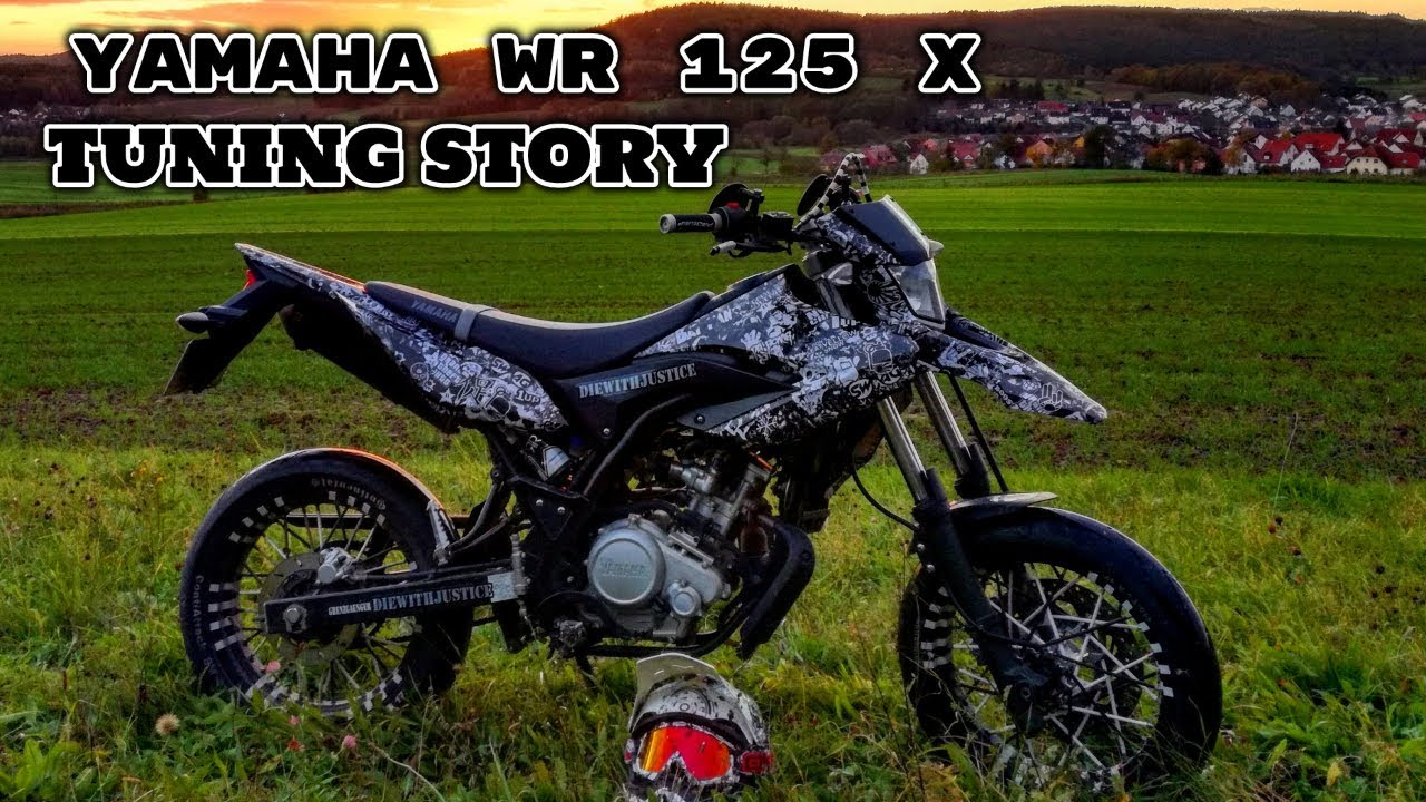 yamaha wr 125 x tuning story sumoleon youtube. Black Bedroom Furniture Sets. Home Design Ideas