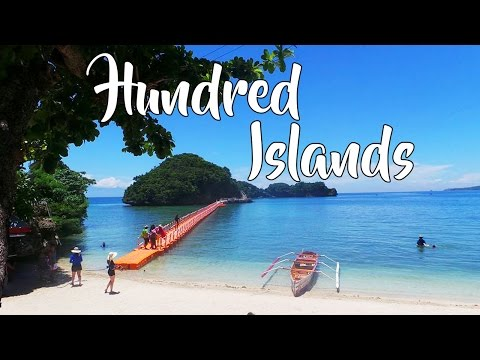 HUNDRED ISLANDS HOPPING