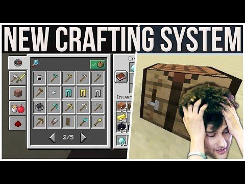 Minecraft 1.12 New Crafting Menu | @Mojang Please Don
