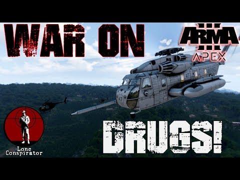 Arma 3 War on Drugs Cambodia