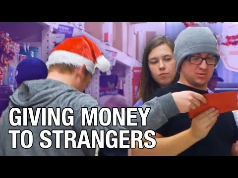 Anonymously Giving Strangers $200