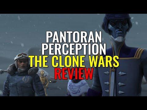 Pantoran Perception Arc - THE CLONE WARS REVIEW