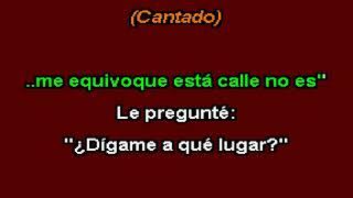 El Taxista - Los Dinnosaurios (Karaoke)