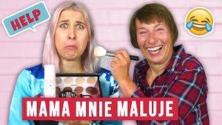 ♦ Mama robi mi makijaż!  pomocy! ♦ Agnieszka Grzelak Beauty
