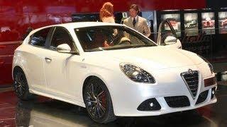 2010 Alfa Romeo Giulietta @ 2010 Geneva Auto Show - CAR and Driver