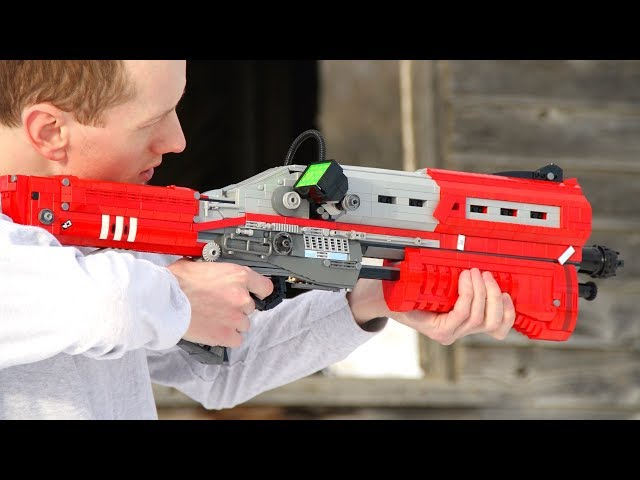 Be The Last Man Standing With A LEGO Fortnite Tactical Shotgun Video