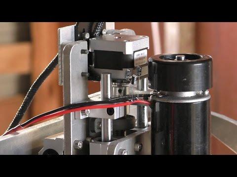DIY mini CNC machine part 11 (spindle round four + more cut tests)