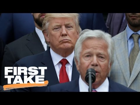 New England Patriots White House Visit Sparks Heated Debate | First Take | April 20, 2017