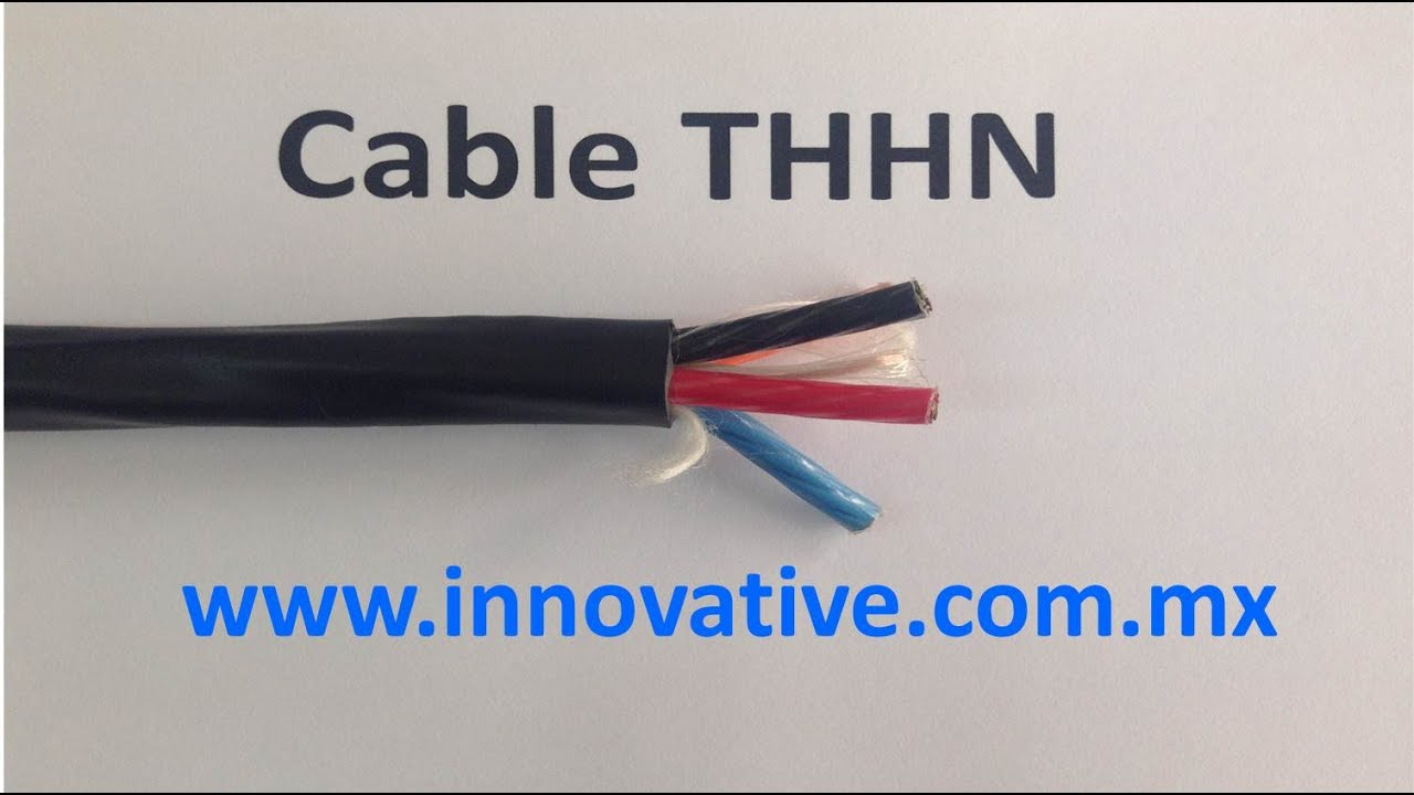 Cable THHN - YouTube