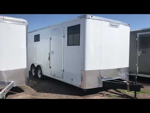 New 2018 Haulmark 8.5x22 Insulated Office Trailer