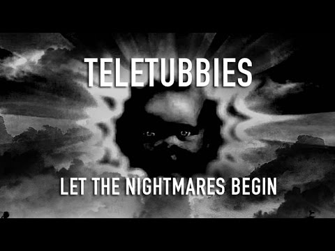 Teletubbies Be Afraid Opening Black White Stretched YouTube - Teletubbies in black and white is terrifying