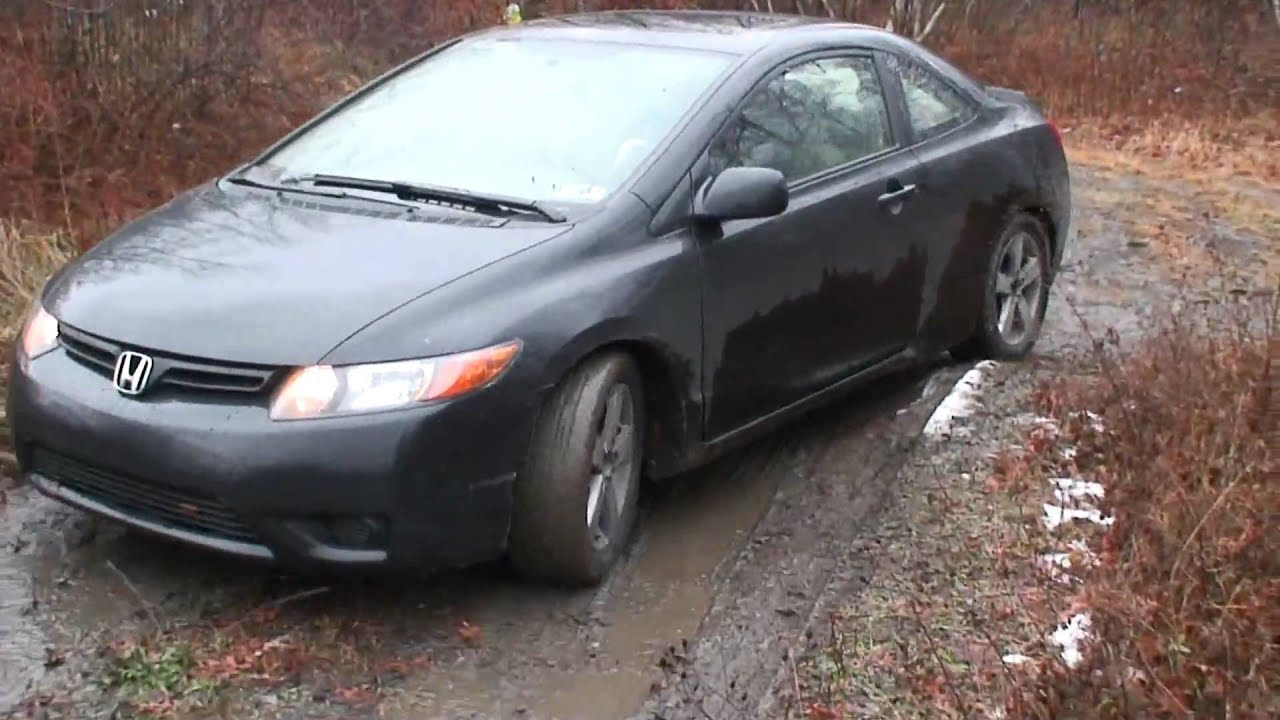 Crv Off Road >> Honda Civic 2006 ex off road in ukraine - YouTube