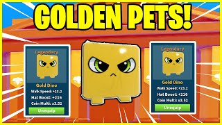 *NEW* BOMB SIMULATOR - I *CREATED* the *BEST* GOLDEN PET! *INSANE MULTIPLIERS!* - ROBLOX