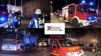 [GROSSBRAND IN HAAN] - Asia-Restaurant abgebrannt ~ Stadtalarm Feuerwehr Haan -