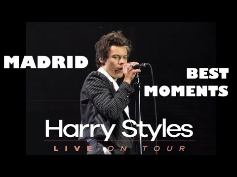 HARRY STYLES HIGHLIGHTS FROM THE MADRID SHOW 2018
