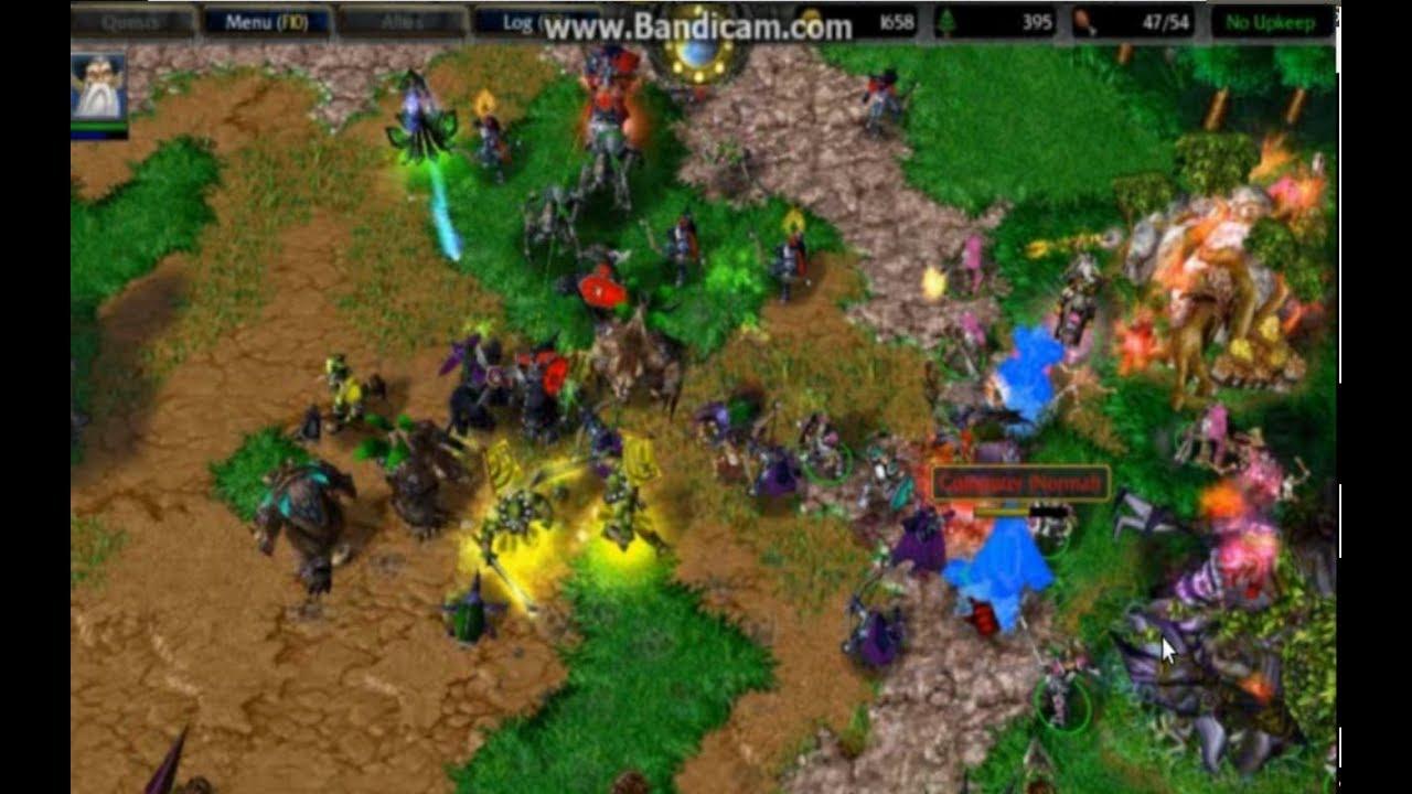 K.D - Garden of War [4x4] (Warcraft III) - YouTube