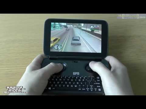 "Top 101 Playable Games On 5.5"" GPD Win Intel Atom X7 Z8700 Intel HD Graphics(1-10)"